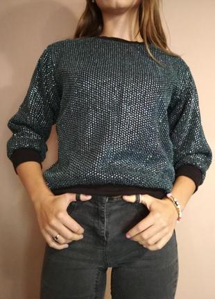 Сверкающий свитер от topshop