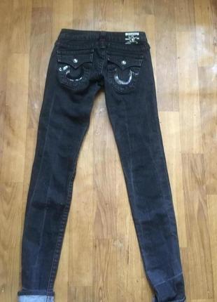 Базовые джинсы skinny оригинал true religion