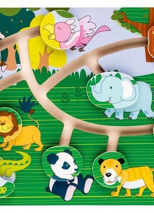 Головоломка лабиринт-потоковая гра с животными playtive