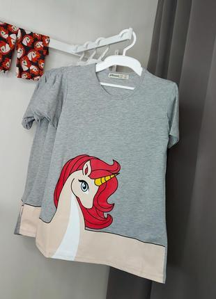 Платье футболочного кроя  jeliboom