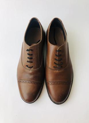 Мужские кожаные туфли cedar crest4 фото