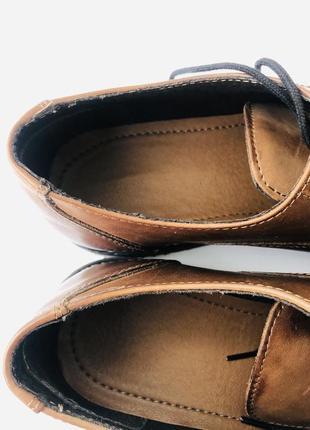 Мужские кожаные туфли cedar crest8 фото