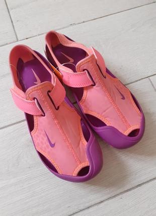 Аквашузи босоножки сандалі nike3 фото