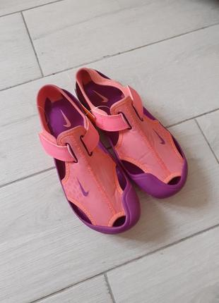Аквашузи босоножки сандалі nike1 фото