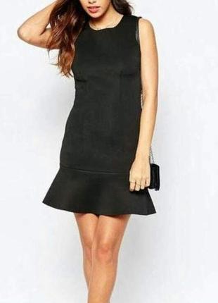 Платье по фигуре с воланом внизу от promod1 фото