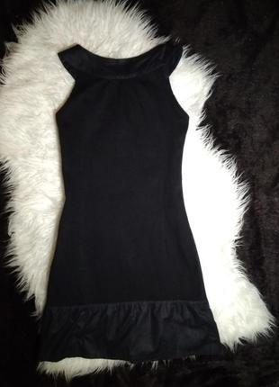 Платье по фигуре с воланом внизу от promod6 фото