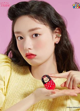 Корейский тинт для губ jelly mousse. лимитированная коллекция.
