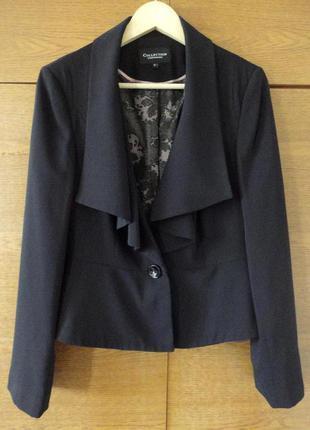 Жакет пиджак с воланом debenhams