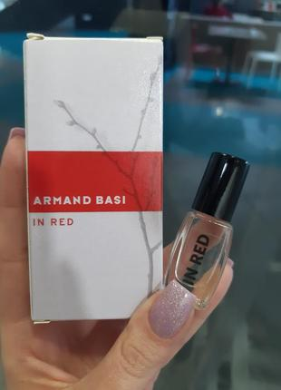 Масляные духи armand basi in red