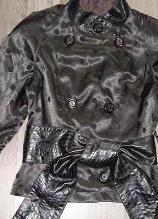 Куртка-ветровка, в горошек.