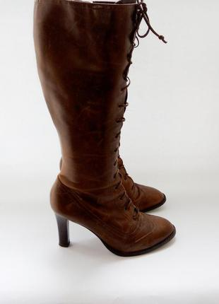 Полная распродажа обуви.сапоги  деми натуральная кожа бренд river island.бразилия.
