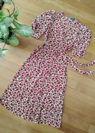 Роскошное платье миди primark