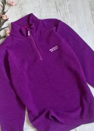 Regatta-s-оригинальная кофта,флиска,фиолетовая