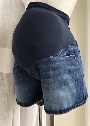 Джинсовые шорты для беременных joe's p.w30