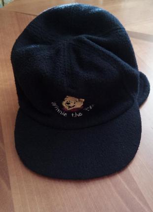 Тёплая кепка-ушанка на мальчика 5 лет(8113)