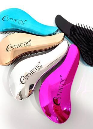 Розчіски esthetic house hair brush for easy comb pink