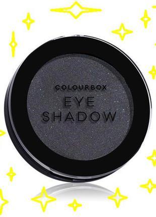 Тени для век colourbox   черный смоки