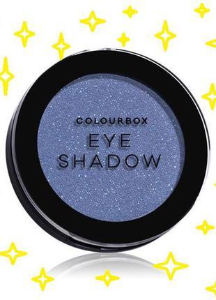 Тени для век colourbox   глубокий синий