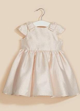 Нарядное платье mothercare на 18-24 мес, рост 92 см