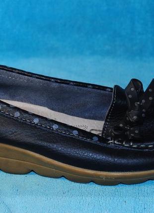 Shoes мокасины кожа 36 размер