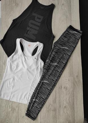 Лот пакет спортивных вещей для тренировок занятия спортом фитнес йога puma оригинал