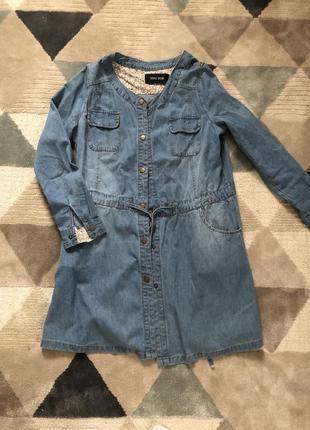Платья джинсове