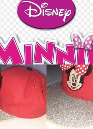 Бейсболка для девочки minnie mouse p.53+от disney