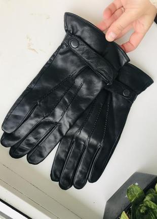 Рукавиці кожа перчатки шкіра