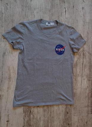 Фирменная футболка от topman с логотипом nasa