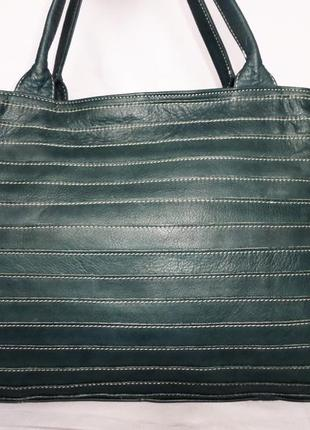 Женская кожаная сумка, натуральная кожа charlotte