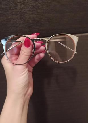 Очки розовые стекла, обмен