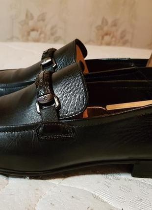 Мужские туфли лоферы ,италия премиум fabi