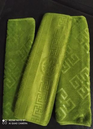 Набор 3 шт. полотенца из микрофибры 35х 75
