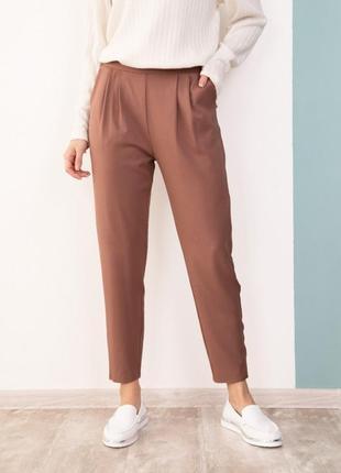 Присборенные на талии брюки sa-181