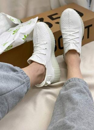 Кроссовки adidas yeezy boost 350 white