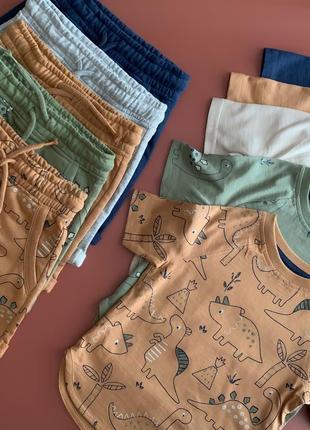 Набір футболок та шортів для хлопчика від george