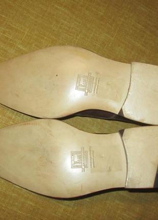 Монки от elgg (швейцария), туфли кожаные ручная работа goodyear welted5 фото