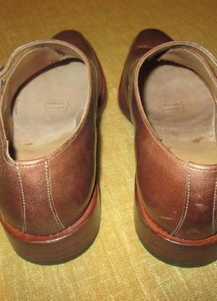 Монки от elgg (швейцария), туфли кожаные ручная работа goodyear welted2 фото
