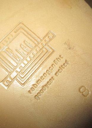 Монки от elgg (швейцария), туфли кожаные ручная работа goodyear welted6 фото