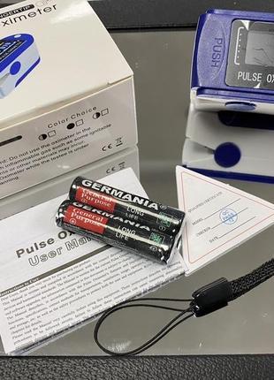 Пульсоксиметр аппарат измерения пульса и сатурации