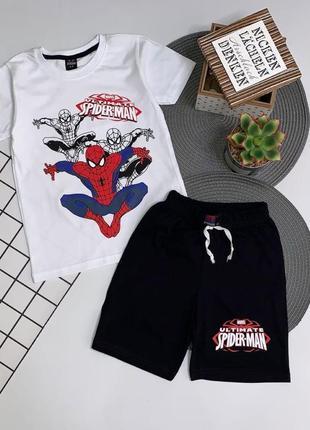 Костюм на лето spider-man 4-12 лет