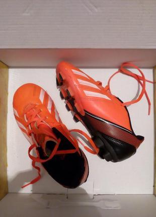 Adidas f5 trx fg футбольные кроссовки р 11,5 англ 18 см коралловый