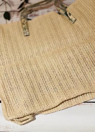 Плетёная сумка victoria's secret tote5 фото