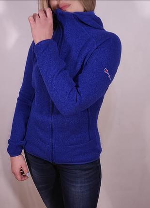 Худи berghaus fleece zip / толстовка теплая кофта с капюшоном