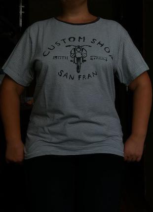 Пижамная домашняя футболка h&m