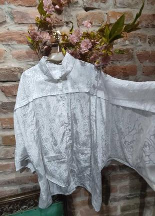 Стильная блуза-смокинг