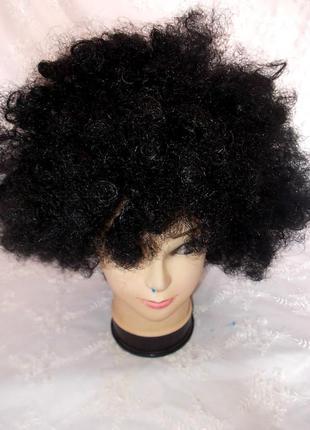 Парик маскарадный детский большая шапка волос