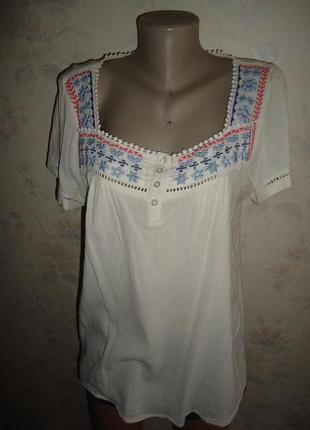 Блуза вышитая -вышиванка