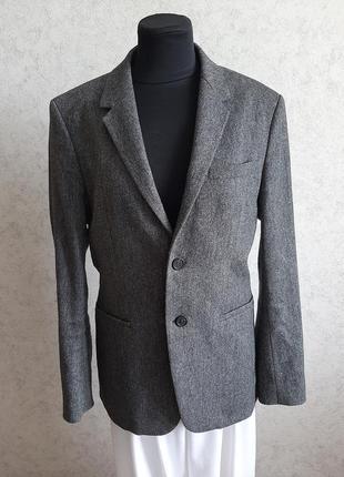 Шерстяной пиджак, жакет