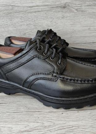 Clarks 39p туфли мужские кожаные индия